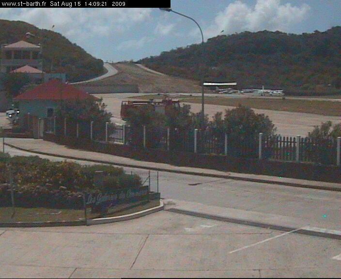 webcam  St-Barthélemy (Antilles Françaises)